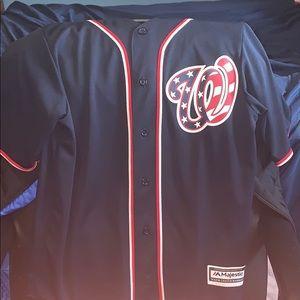 Washington Nationals Baseball Jersey